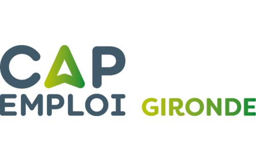 Logo Cap emploi 33 Gironde GIRPEH (Réseau Cap emploi)